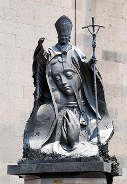 Monumento a JPII en México