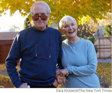 Paul Newman y Jane Woodward