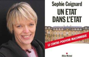 Sophie Coignard, autora del libro publicado en la editorial Albin Michel.