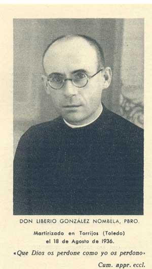 El padre Liberio González