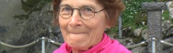 Danila Castelli, tras su curación, ha visitado mucho Lourdes, como peregrina y voluntaria