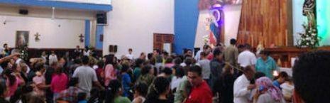 Agitación en la parroquia María Madre de la Iglesia, en Guadalajara, México