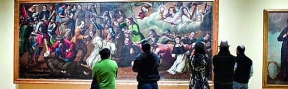 Luis Berrueco pintó en 1731 un óleo homenaje a los mártires de Gorcum.