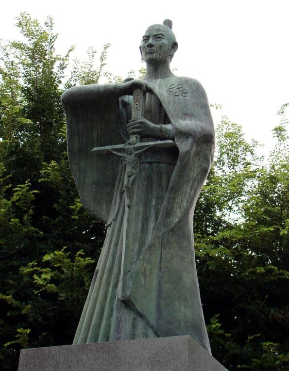 takayama_ukon_estatua