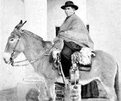 José Gabriel Brochero, muerto en 1914, es conocido como el cura gaucho