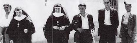 Algunas de las religiosas mártires durante la Guerra Civil española