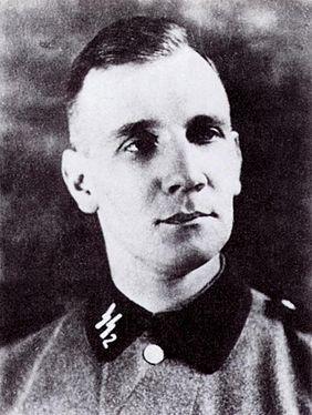 Kurt Gerstein, de uniforme