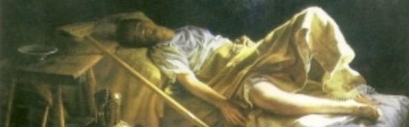 """El cuadro """"El milagro de Calanda"""" pintado por la religiosa Isabel Guerra"""