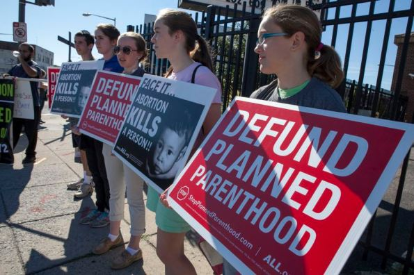 American Life League and Stop Planned Parenthood International participate in the National Day of Protest on Saturday, August 22, 2015 at a proposed Planned Parenthood facility in Washington, D.C.