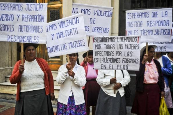 PERU-STERILIZATION-VICTIMS