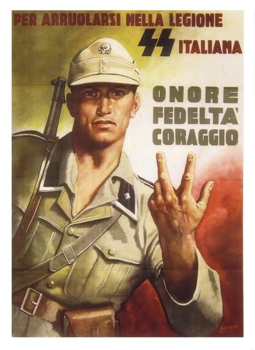 reclutamiento nazi en italia